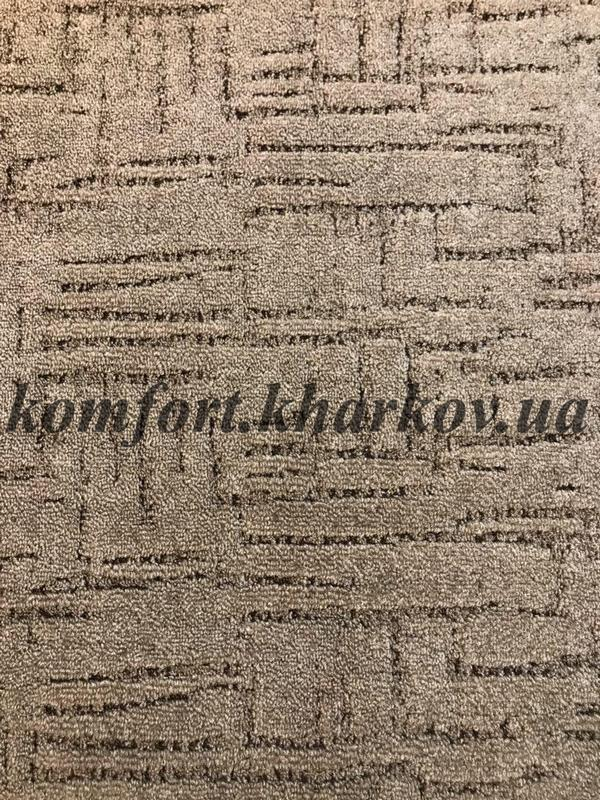 Ковровое покрытие, ковролин KASBAR 820 (B) коричневый