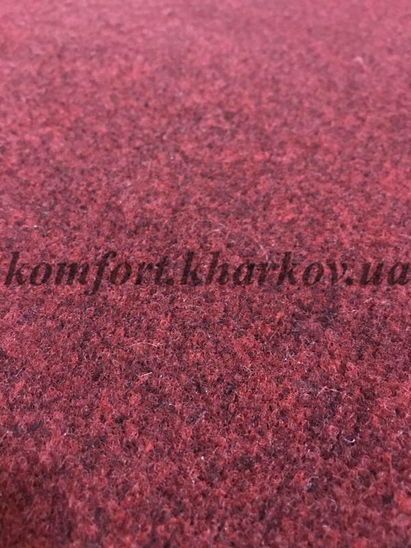 Ковровое покрытие, ковролин TOURAN NEW 340 красный