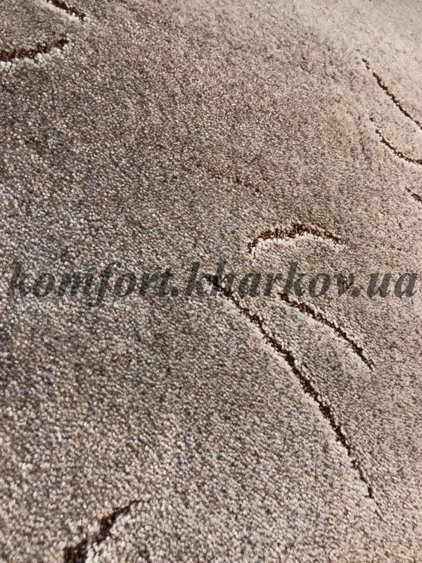 Ковровое покрытие, ковролин ZANZIBAR 822 (B) коричневый