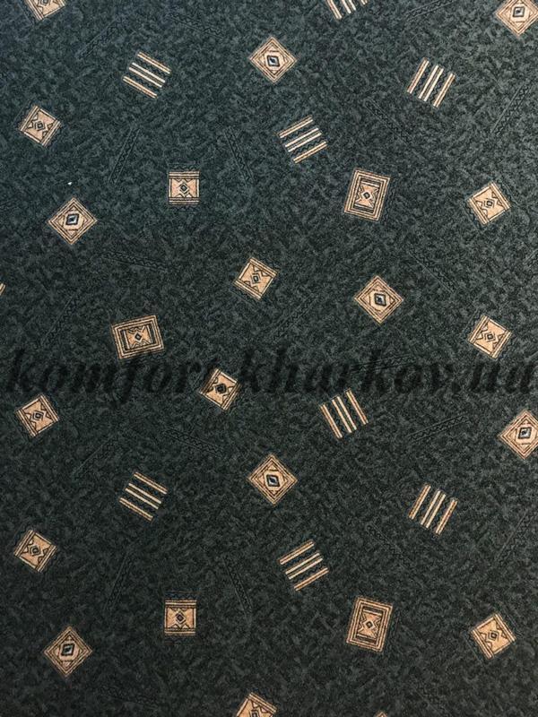 Ковровое покрытие, ковролин KRETA  22 (В) зеленый