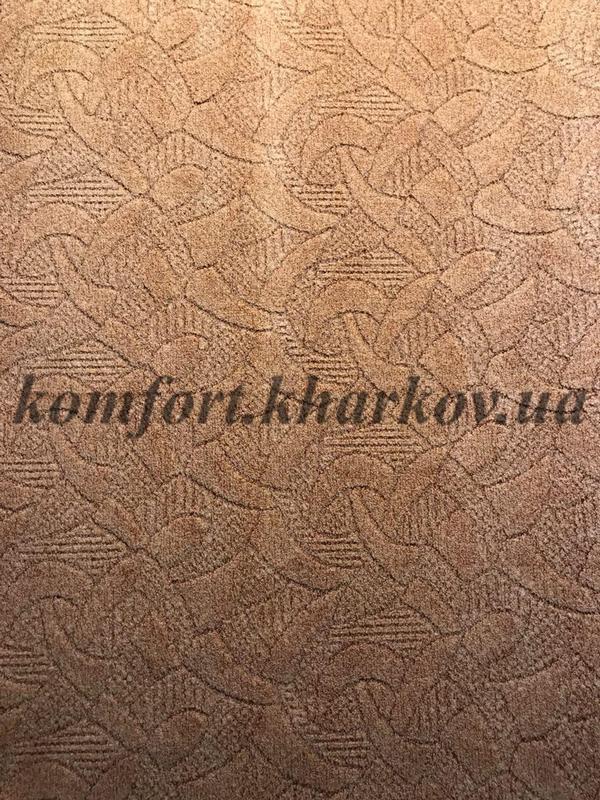 Ковровое покрытие, ковролин SANTA FE  56 (B) св, терракот