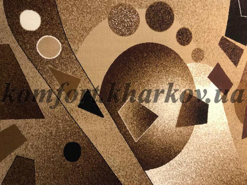 Ковровое покрытие, ковролин JAZZ 6904A BEJ\KAHVE