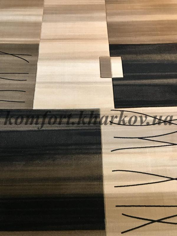 Ковровое покрытие, ковролин SEVILLA 9088C KREM\ABD KAHVE