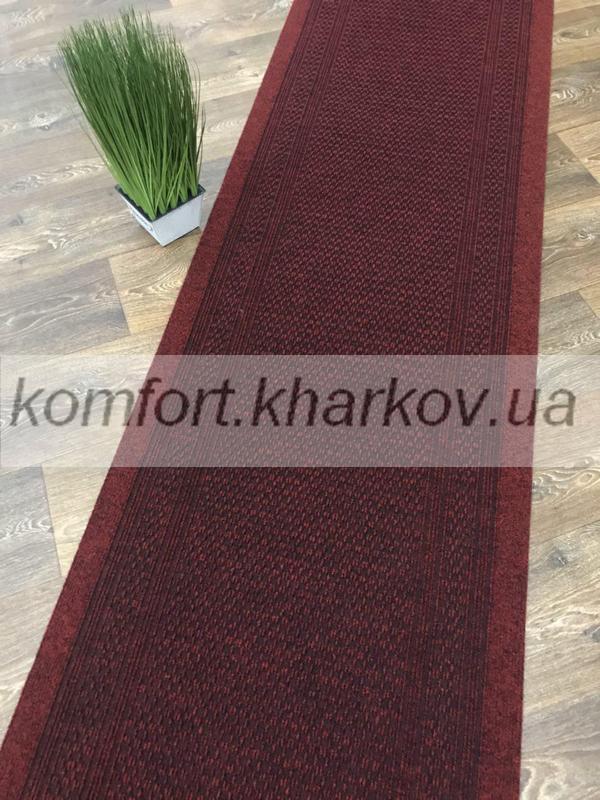 Дорожка ковровая AZTEC 40 красный