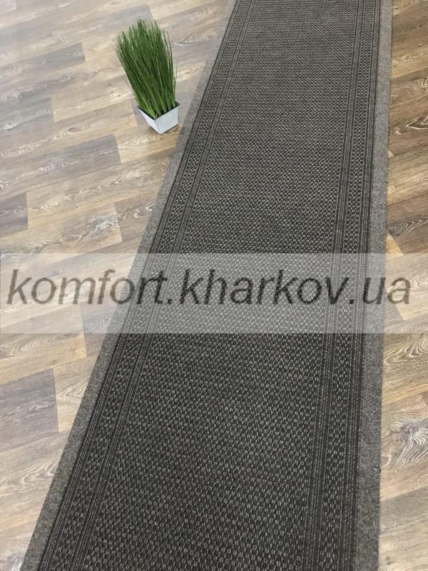 Дорожка ковровая AZTEC 80 светло коричневый