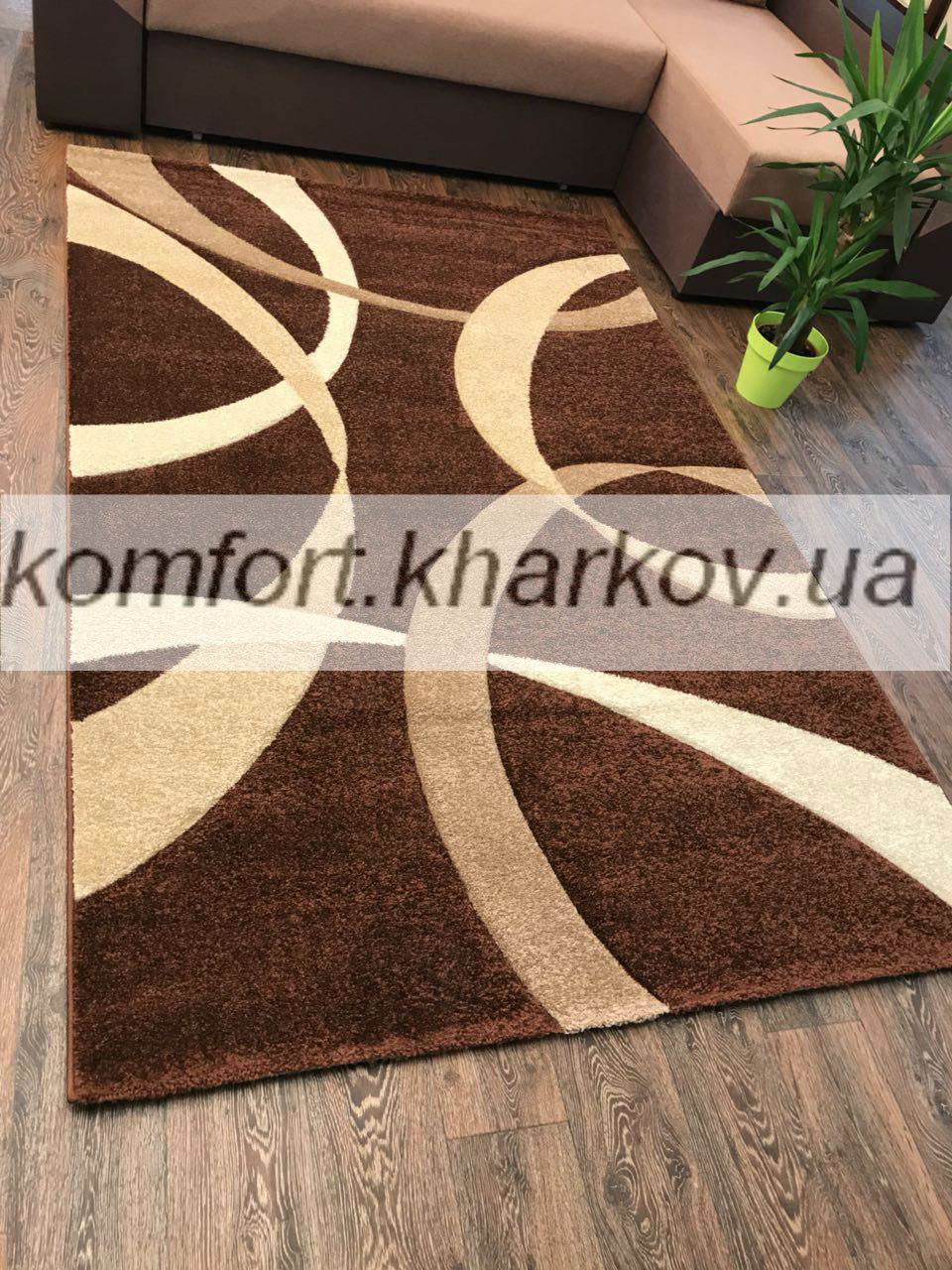 Ковер FIRUSE LUX-2632A\BROWN