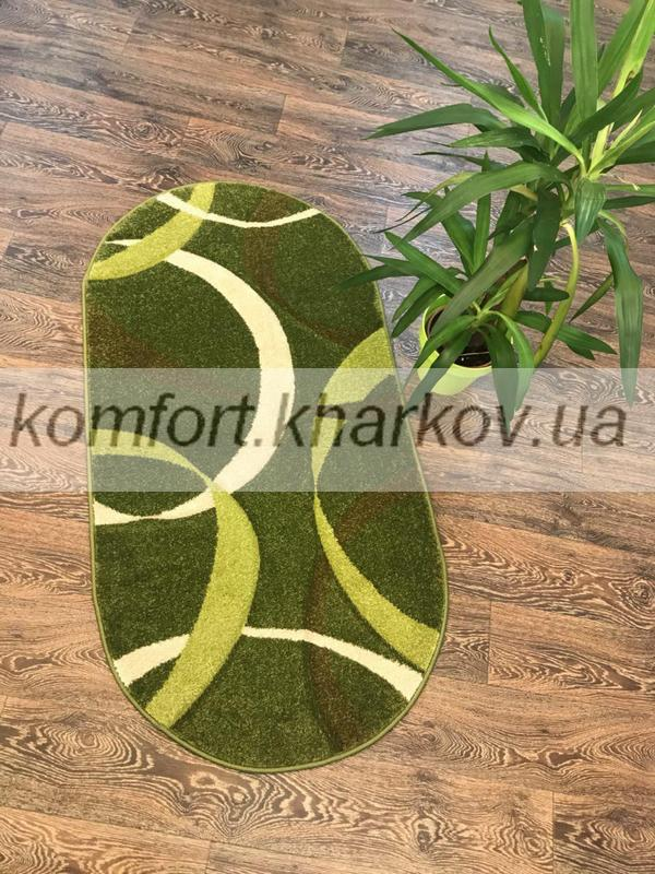 Ковер FIRUSE LUX-2632A\MIDDLE GREEN овал