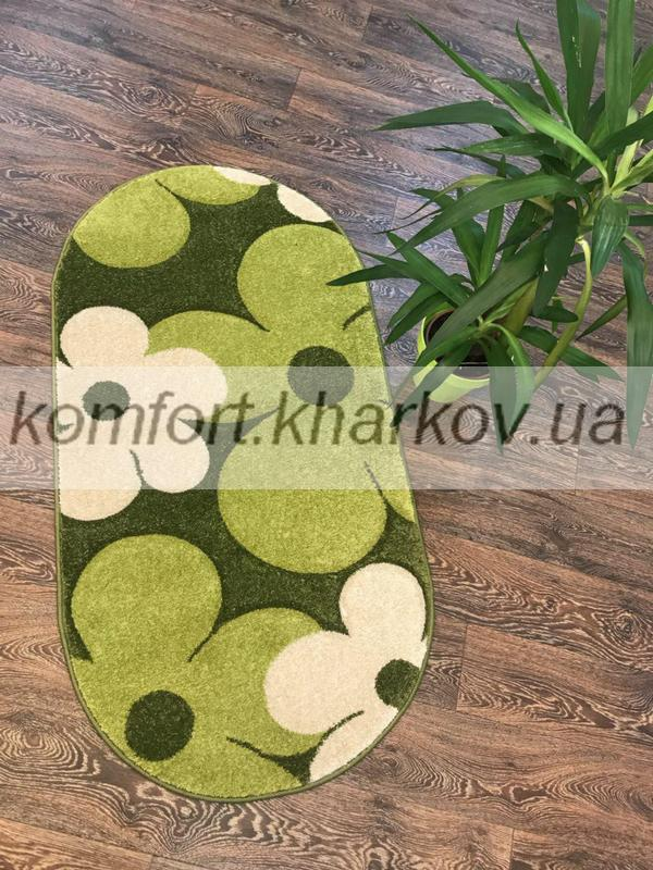 Ковер FIRUSE LUX-2725A\MIDDLE GREEN овал