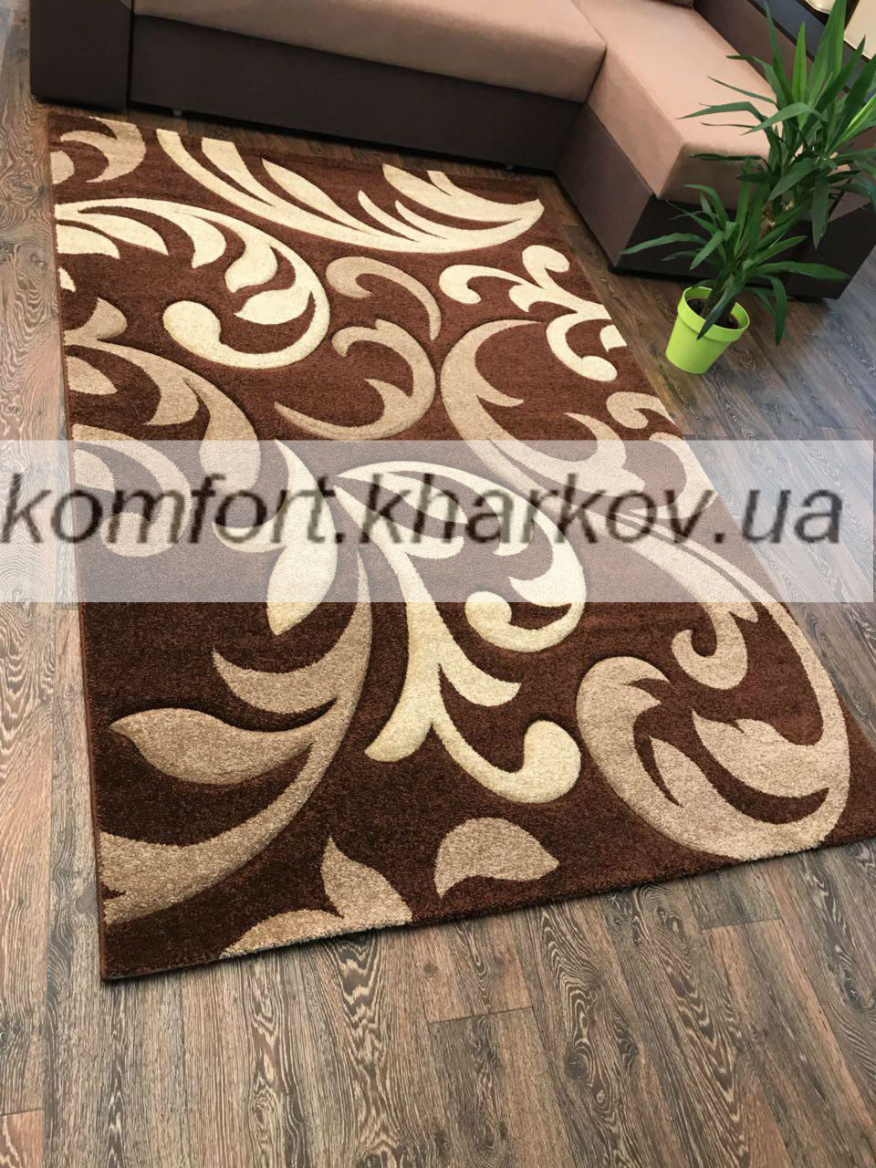 Ковер FIRUSE LUX-4397A\BROWN