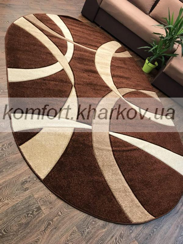 Ковер FIRUSE LUX-2632A/BROWN овал