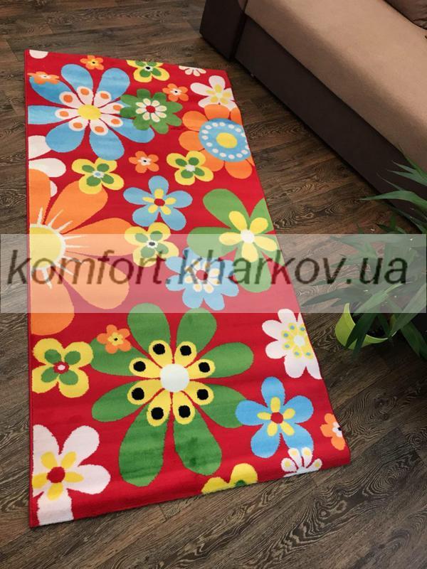 Ковер KIDS COLLECTION-B493A\RED цветы