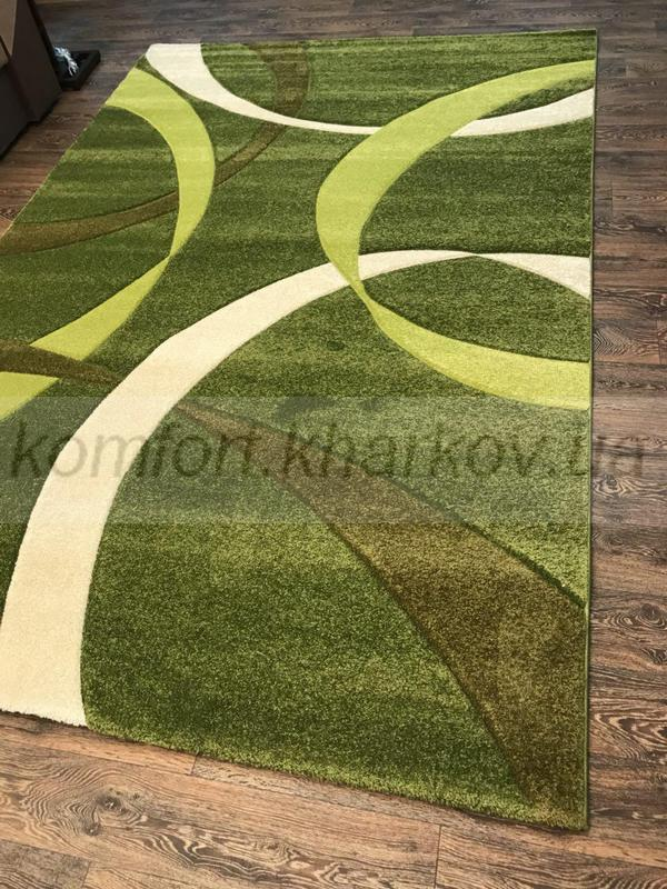 Ковер FIRUSE LUX-2632A\MIDDLE GREEN