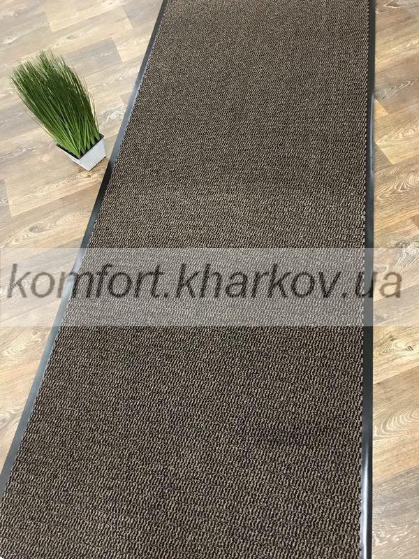 Дорожка ковровая LEYLA  0.9  60 коричневая
