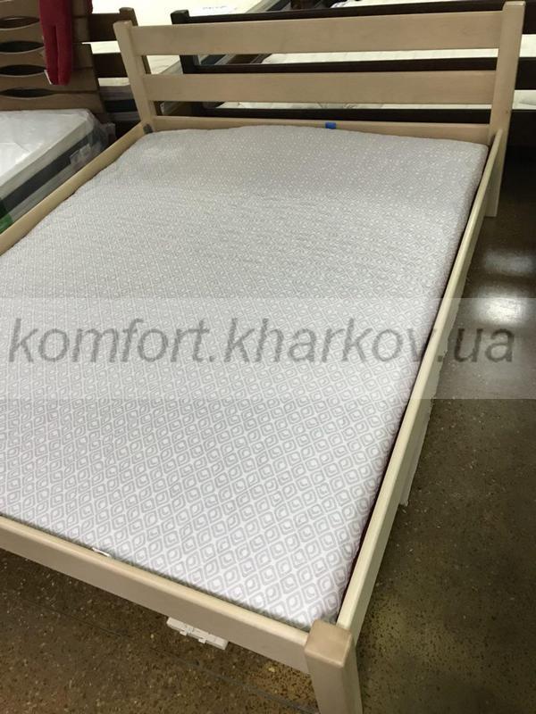 Кровать Модерн 160x200 ольха лак