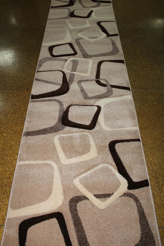 Дорожка ковровая SUPER VERSO 6259A S,KAHVE\BEJ