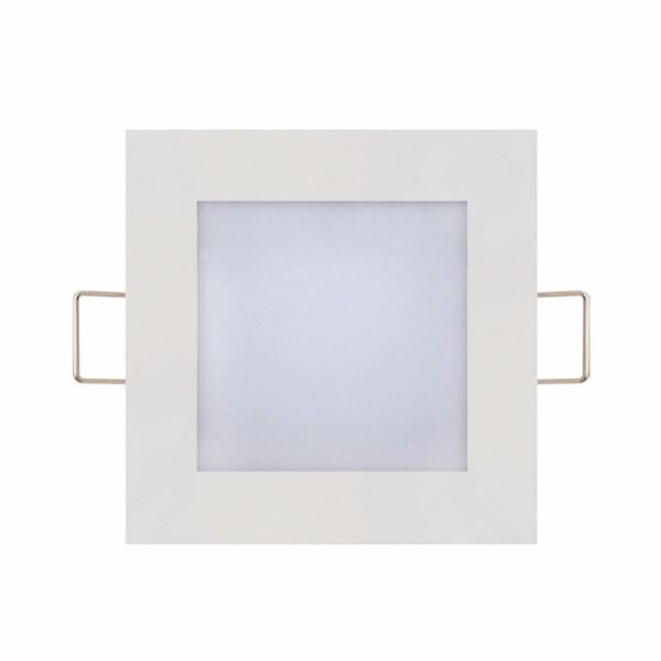 Светодиодный светильник врезной Slim/Sq-6 6W 6400K
