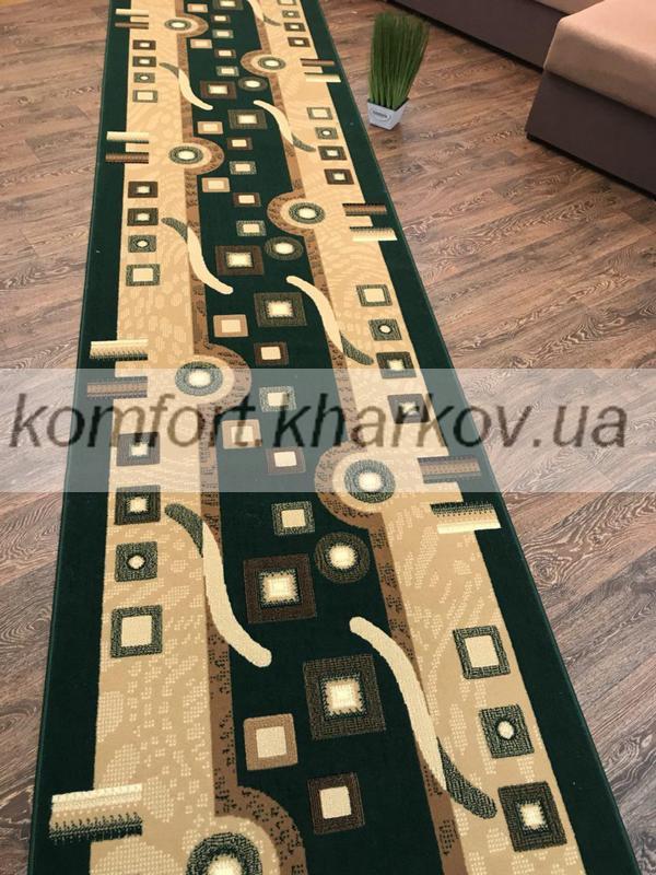 Дорожка ковровая BER 4310  204 зеленый