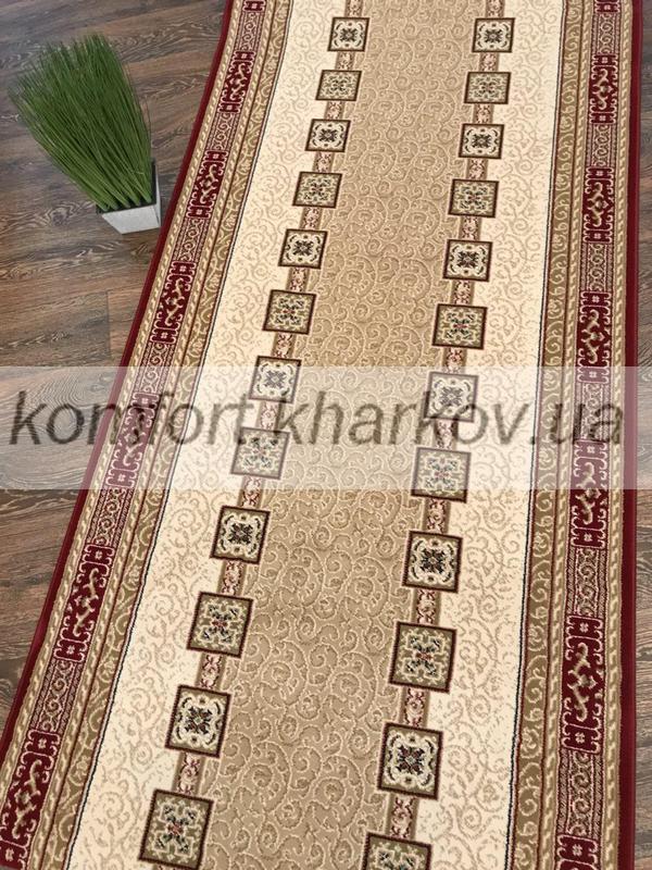 Дорожка ковровая KASHMAR 7552 614