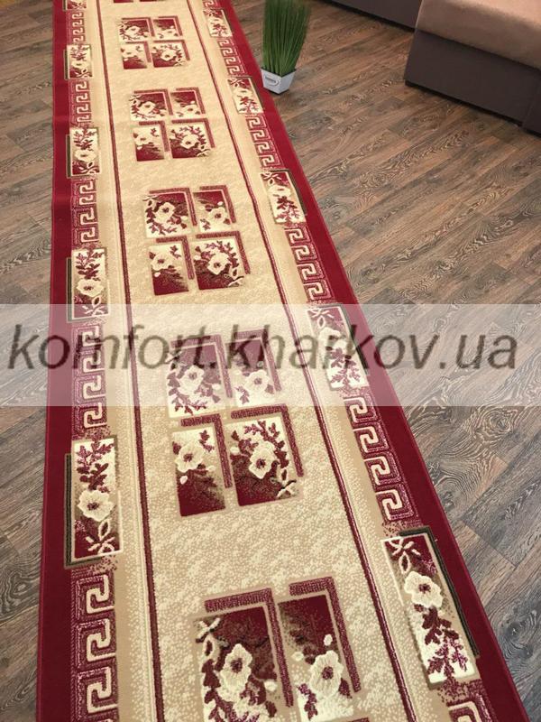 Дорожка ковровая LUC 618 207 красный