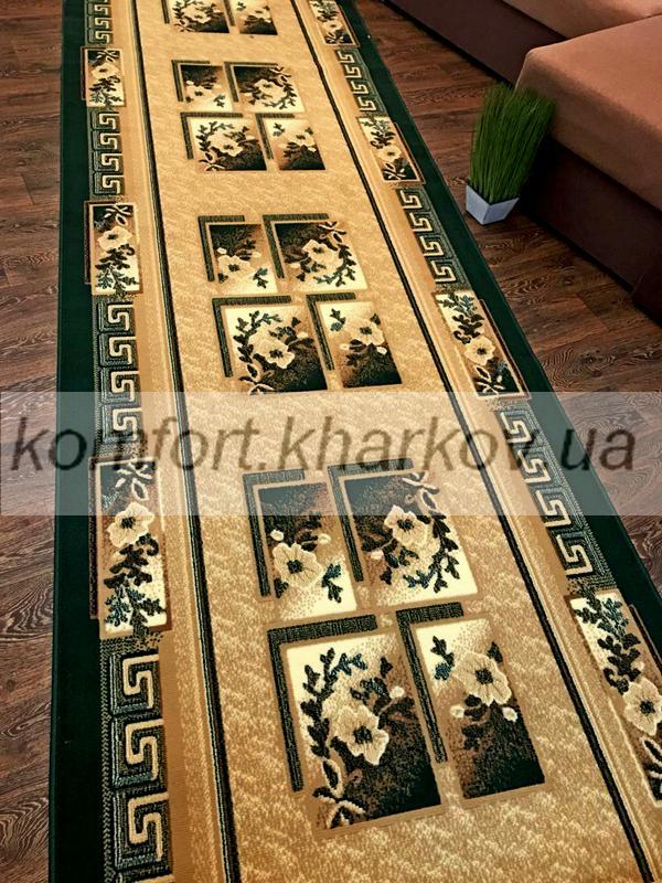 Дорожка ковровая LUC 618 204 зеленый