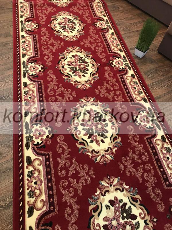Дорожка ковровая LUC 851 207 красный