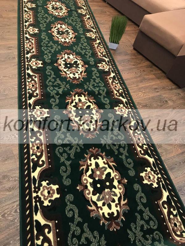 Дорожка ковровая LUC 851  204 зеленый