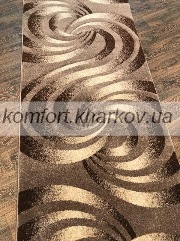 Дорожка ковровая POLO 6645B  BEJ\S,KAHVE