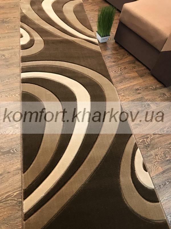 Дорожка ковровая SEVILLA 5853A S,KAHVE\ABD KAHVE