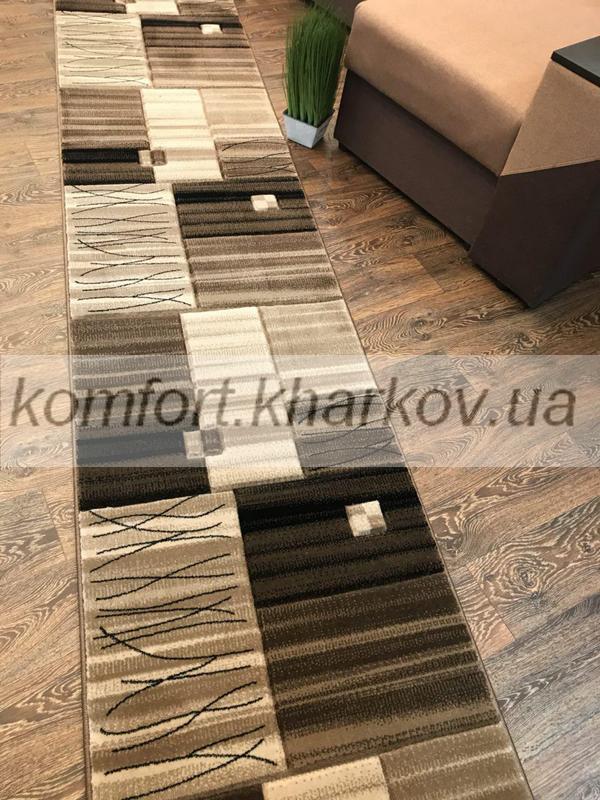 Дорожка ковровая SEVILLA 9088C  KREM\ABD KAHVE