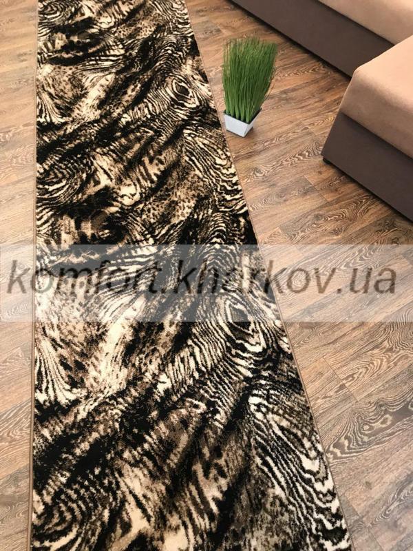 Дорожка ковровая SINGAPUR COL, 6694A  KAHVE\KAHVE