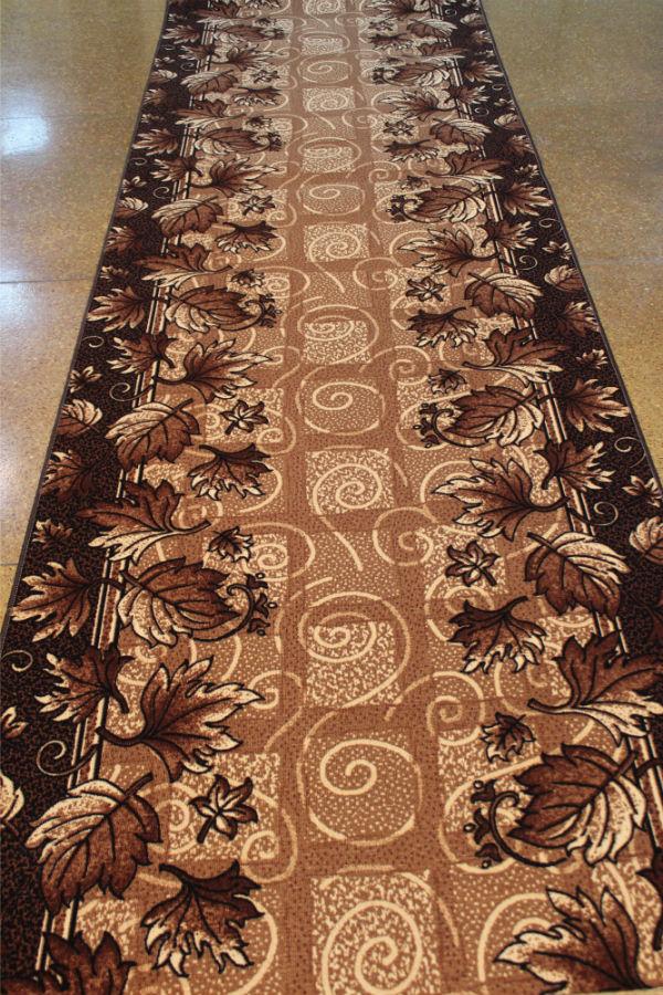 Дорожка ковровая SVETLANA 41 (B) коричневый (Р)