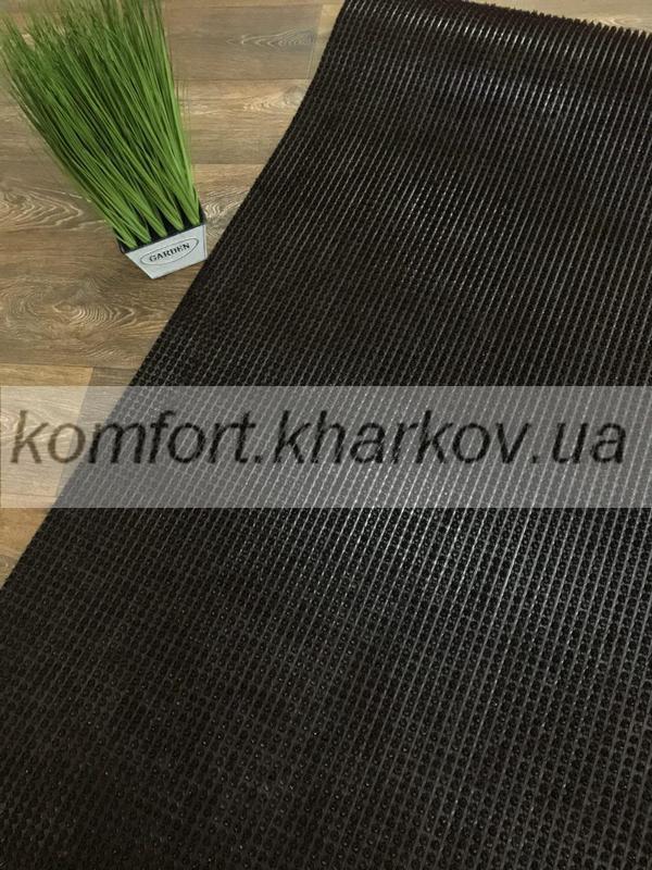 Дорожка ковровая Дорожка ПВХ  37 темнокоричневый