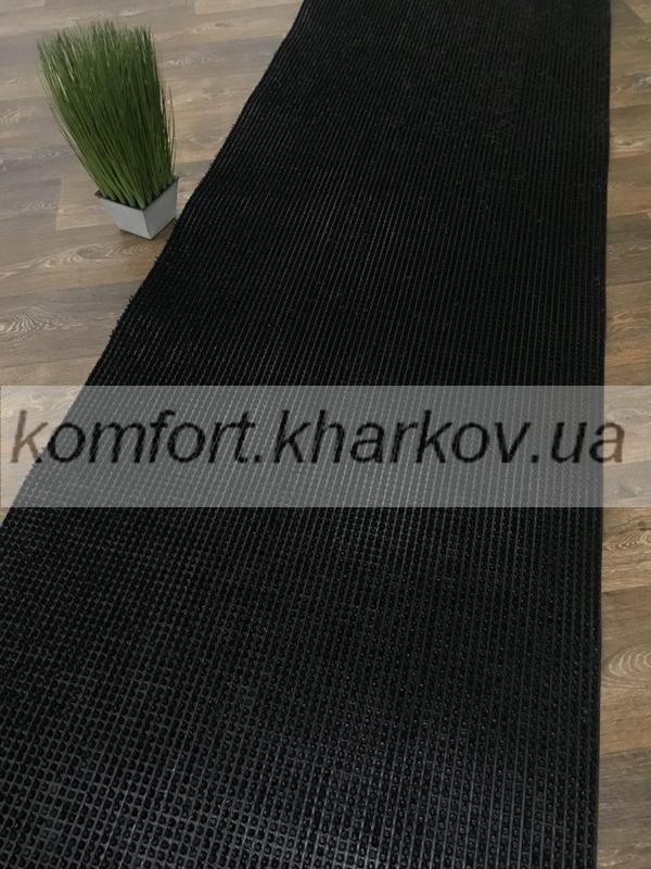 Дорожка ковровая Дорожка ПВХ  39 черный