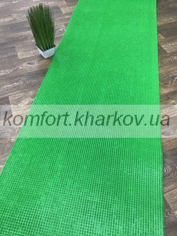 Дорожка ковровая Дорожка ПВХ  63 зеленый