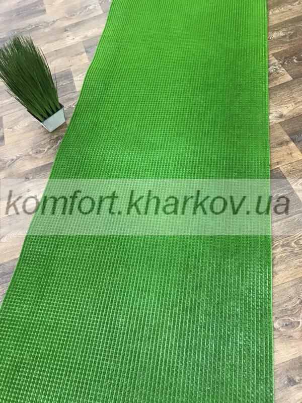 Дорожка ковровая Дорожка ПВХ 64 моховый зеленый