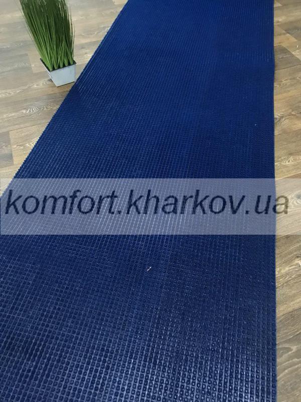 Дорожка ковровая Дорожка ПВХ  77 синий