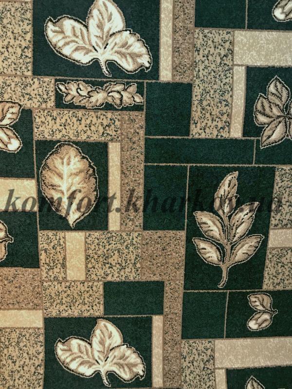 Ковровое покрытие, ковролин BER 4258  204 зеленый