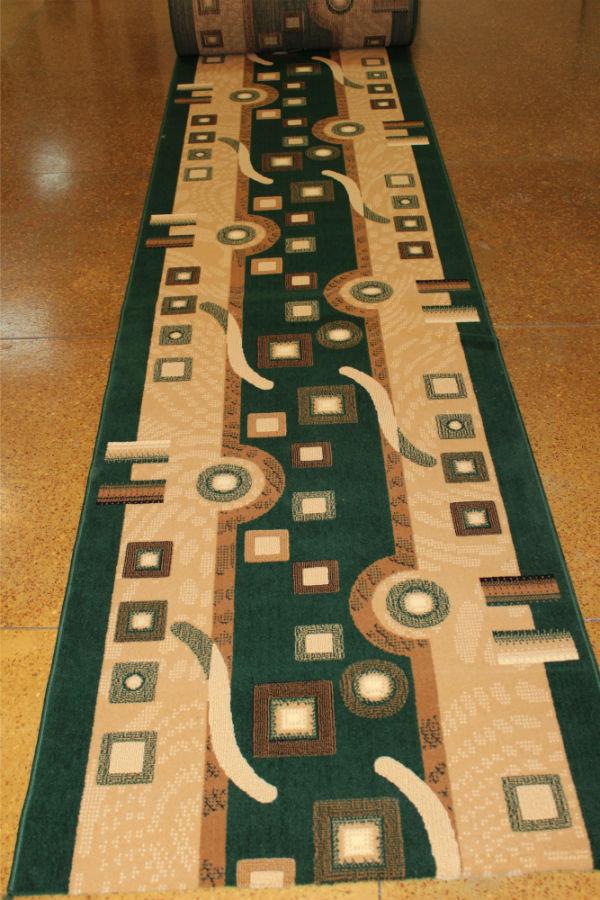 Ковровое покрытие, ковролин BER 4310 204 зеленый