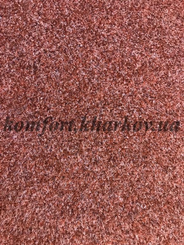 Ковровое покрытие, ковролин CONCORD 316 красный