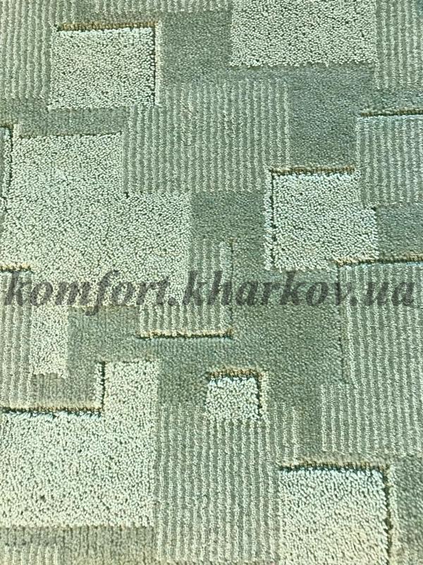 Ковровое покрытие, ковролин DESIGN 609  (B) зеленый