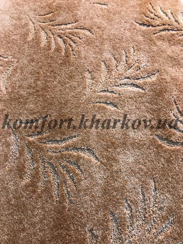 Ковровое покрытие, ковролин FERN  283  (B)  коньяк